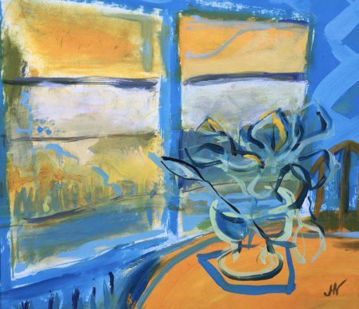 Jenny Hill Norton, Still Life by Window 1 1