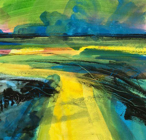 Jo Ellis, Downs Abstract I 1