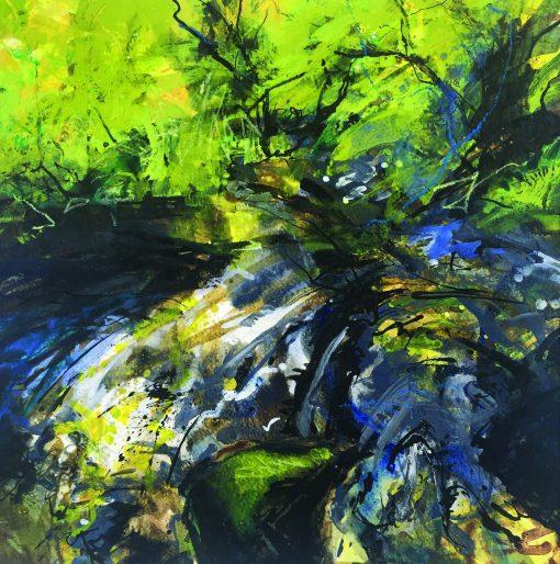 Jo Ellis, 'Warleggan-Reflections' 1