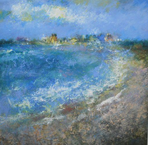 John McClenaghen, Rain & Seaspray Aldeburgh 1