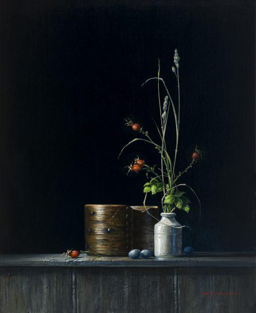 Bryan Hanlon, Rosehips, Flour Measure and Eggs 1