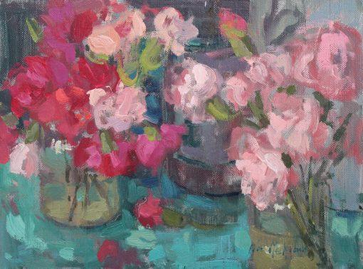 Nia Mackeown, Pink Carnations 1