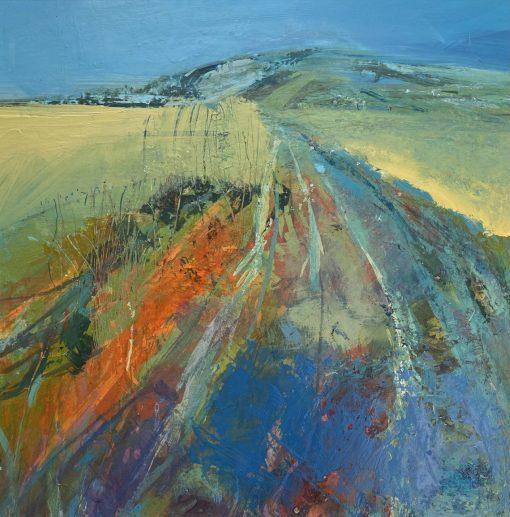 Jo Ellis, South Downs Way II 1