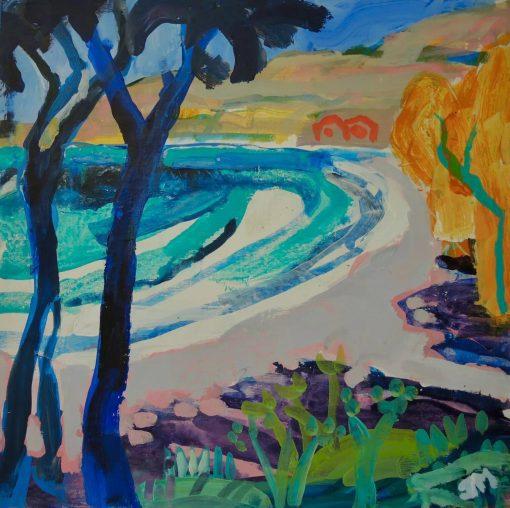 John Mackinlay, Ritsa Beach Kardamyli 1
