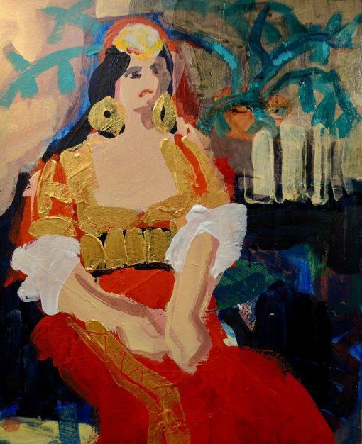 John Mackinlay, Delacroix's Juive de Tanger 1