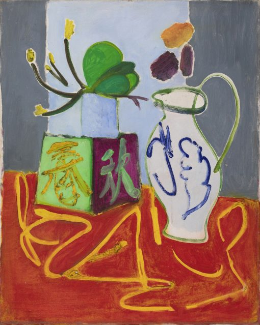 Romi Behrens, Chinese Box with Jug 1