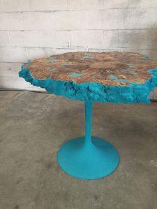 Craig Narramore, Aqua coral table 4