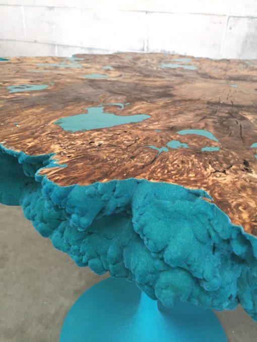 Craig Narramore, Aqua coral table 1