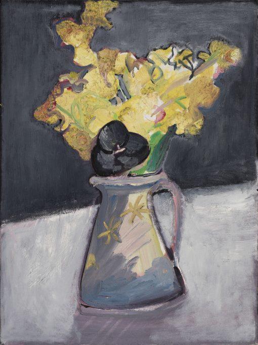 Romi Behrens, Daffs with Black Tulip 1