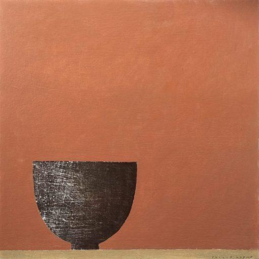 Philip Lyons, Dark Bowl on Tan 1