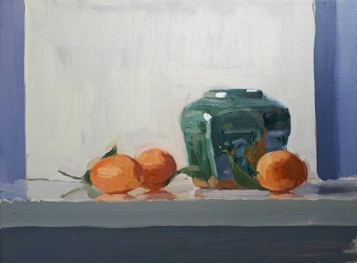 Lotta Teale, Ginger Jar with Marian Plums 1