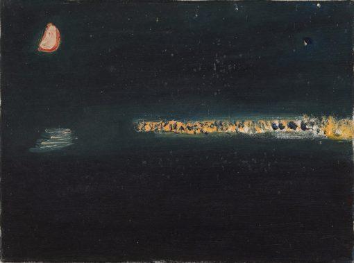 Romi Behrens, Newlyn Lights with Half Moon 1