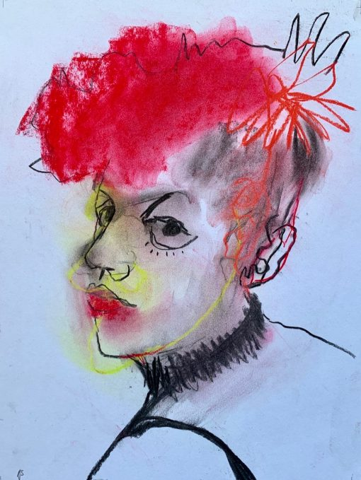 Anthea Stilwell, Red Hair I 1