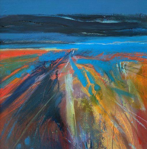Jo Ellis, Abstract Landscape I 1