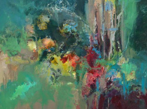 Jo Ellis, Deep in the Flower Border 1