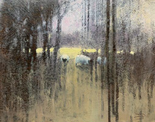 David Smith, Sheep in the Shade 1