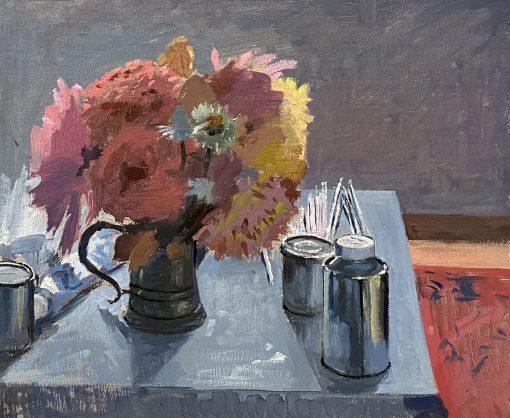 Daisy Sims-Hilditch, Still life on Table 1