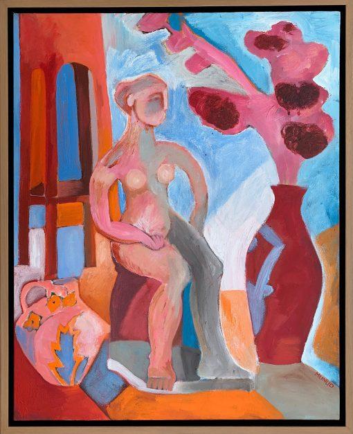 Naomi Munuo, Seated Nude 2 1