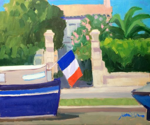 Charles Jamieson, On the Canal, Homps 1