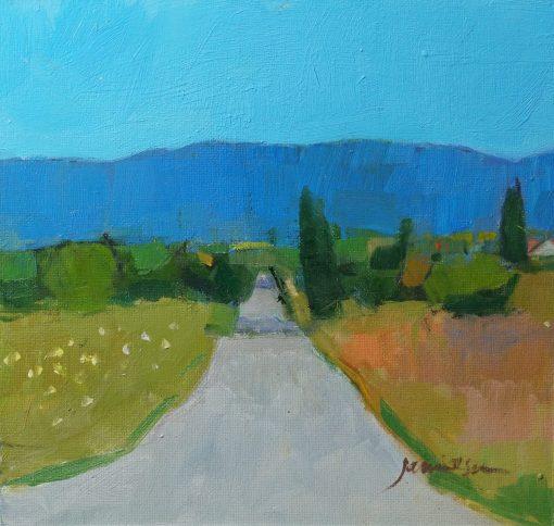 Charles Jamieson, Country Road, Luberon 1