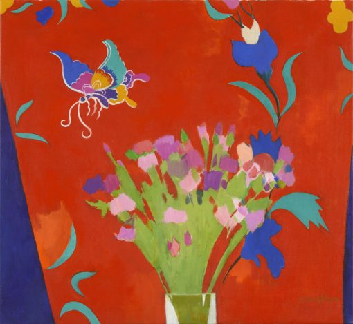 Charles Jamieson, Flowers & Butterfly 1