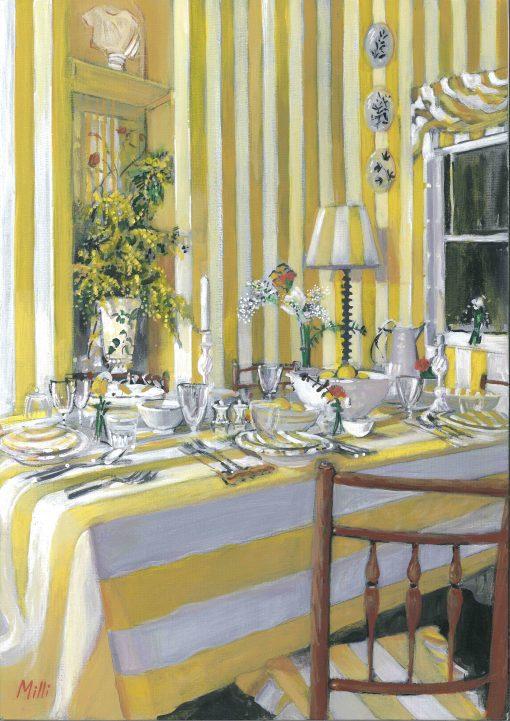 Louise Millin Inchley, Sunshine Stripes 1