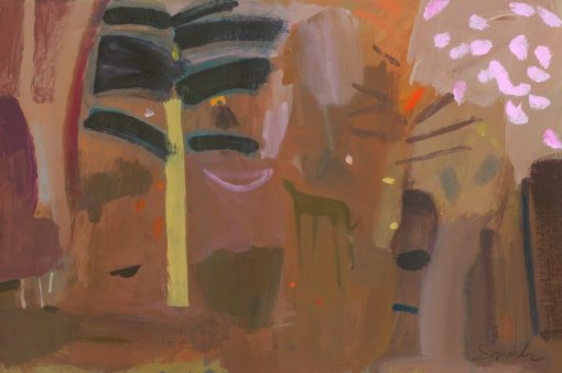 Carol Saunderson, Following An Angel Through The Forest 1