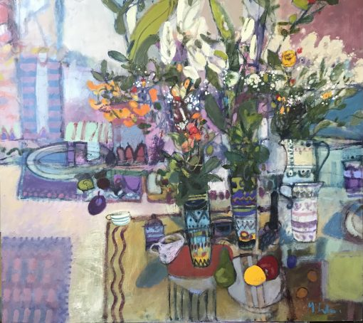 Rory McLauchlan, Still Life with Lilies 1