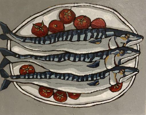 Jane Hooper, Fish and Tomato 1