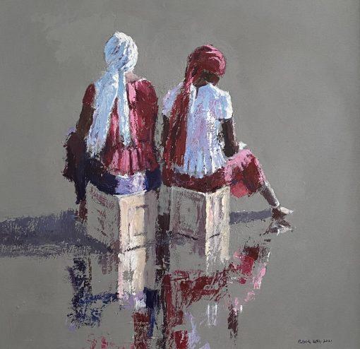 Patrick Gibbs, Seated Women, Gambia 1