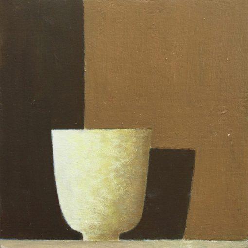 Philip Lyons, Ivory Bowl on Gold 1