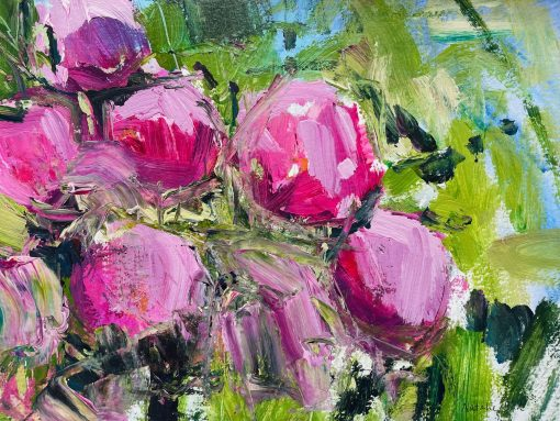 Natalie Bird, Garden Peonies 1