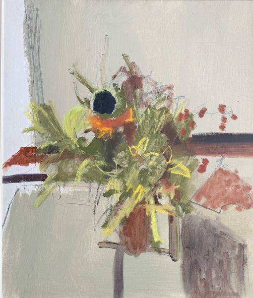 Marika Wenman, Floral Abstract 3