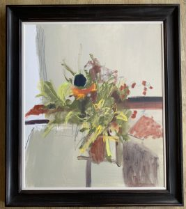 Marika Wenman, Floral Abstract 4