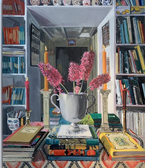 Louise Millin Inchley, Interior of Hyacinth & Books 1