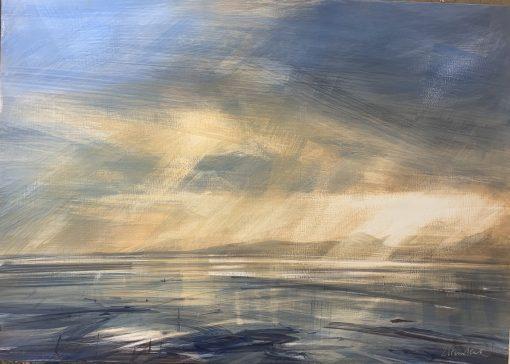 Zarina Stewart-Clark, Low Tide Towards Jura 1