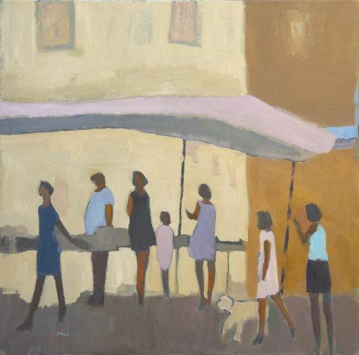 Michael Clark, At The Market 1