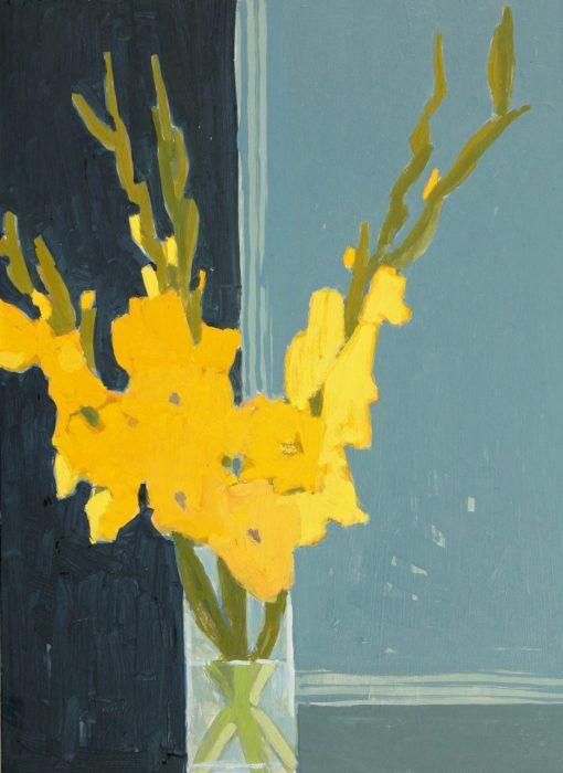 Mark Godwin, Yellow Gladioli 1