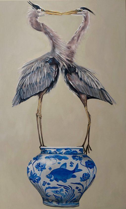 Jazzy Westinghouse, Great Blue Herons 1