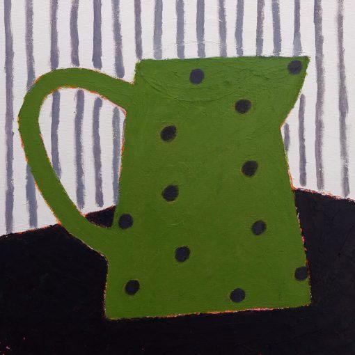 Sophie Harding, Spotty Green Jug 3