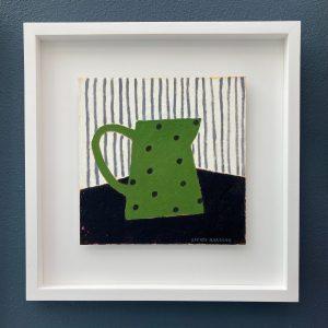 Sophie Harding, Spotty Green Jug 4