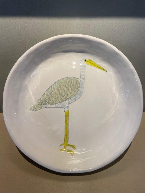 Gemma Orkin, Hand Painted Ceramic Platter (15) 1