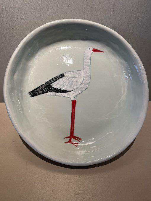Gemma Orkin, Hand Painted Ceramic Platter (07) 1