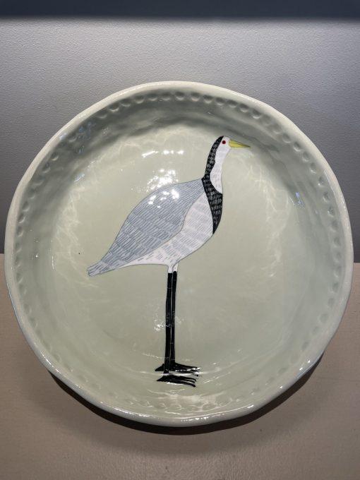 Gemma Orkin, Hand Painted Ceramic Platter (02) 1