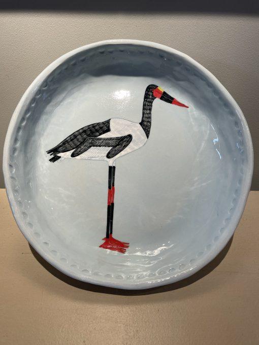 Gemma Orkin, Hand Painted Ceramic Platter (05) 1