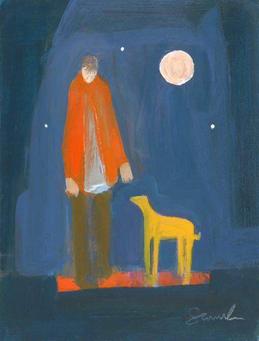 Carol Saunderson, Night Walk 1