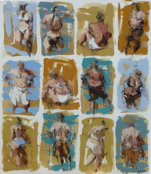 Anna Pinkster, Twelve Bathers V 1